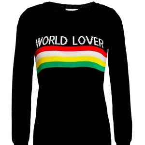 NWT Sandro World Lover sweater